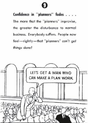 """""""La confianza en los planificadores empieza a desvanecerse"""""""