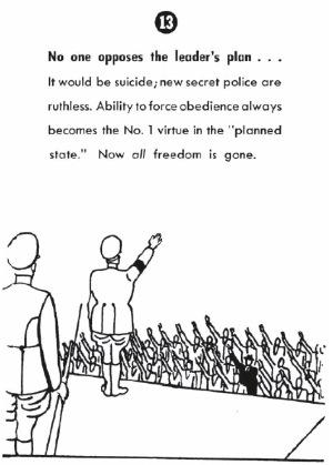 """""""Nadie se opone al plan del líder"""""""