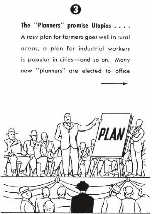 """""""Los 'planificadores' prometen utopías"""""""